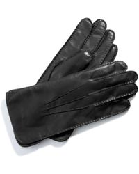 Aspinal of London - Leather Gloves - Black - Lyst