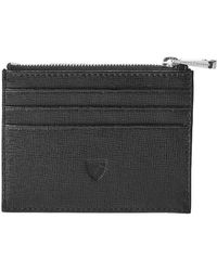 Aspinal - Zip Top Coin & Card Case - Lyst