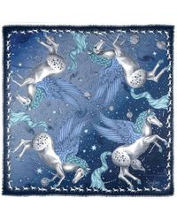 Aspinal - The Pegasus Cashmere Blend Scarf - Lyst