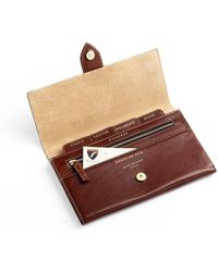 Aspinal - Deluxe Travel Wallet - Lyst