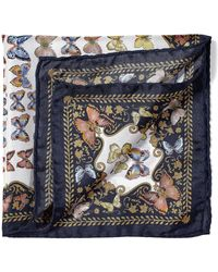 Aspinal - Aspinal X Caudwell Children Silk Pocket Square - Lyst