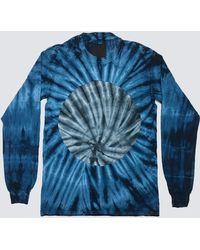 Assembly - Tie Dye Long Sleeve Circle T-shirt - Lyst