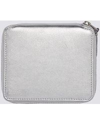 Comme des Garçons - Leather Zip Wallet - Silver Sa-2100g - Lyst