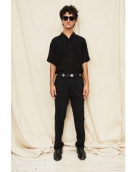 Assembly - Black Camp Shirt - Lyst