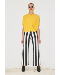 Assembly - Stripe Neoprene Simple Pant - Lyst