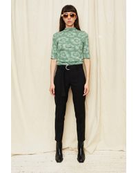 Assembly - Black Pintuck Pant - Lyst
