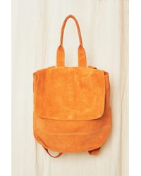 Clyde - Suede Room Backpack - Lyst