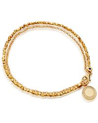 Astley Clarke - Rose Gold Cosmos Sapphire Biography Bracelet - Lyst