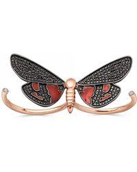 Astley Clarke - Little Heart Gold Diamond Ring - Lyst