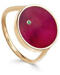 Astley Clarke - Ruby Mars Ring - Lyst