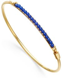 Astley Clarke - Blue Agate Biography Bangle - Lyst