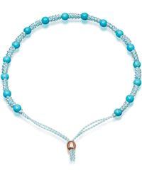 Astley Clarke - Agate Saturn Bracelet - Lyst
