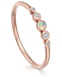 Astley Clarke - Mini Icon Nova Opal Ring - Lyst