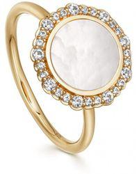 Astley Clarke - Luna Mother Of Pearl Ring - Lyst