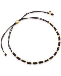 Astley Clarke - Black Spinel Evil Eye Biography Bracelet - Lyst