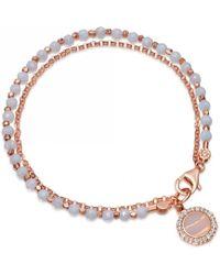Astley Clarke - Luna Lace Agate Biography Bracelet - Lyst