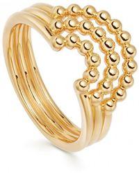 Astley Clarke - Stilla Arc Curve Ring - Lyst