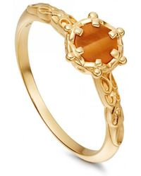 Astley Clarke - Tigers Eye Floris Ring - Lyst