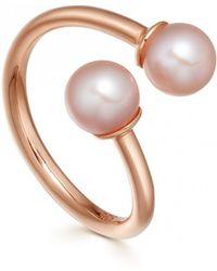 Astley Clarke - Yves Pearl Ring - Lyst