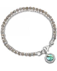 Astley Clarke - Luna Abalone Biography Bracelet - Lyst