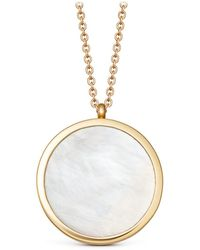 Astley Clarke - Large Mother Of Pearl Slice Stilla Locket Necklace - Lyst