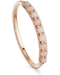 Astley Clarke Pink Opal Hedda Ring