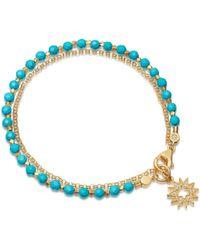 Astley Clarke Turquoise Sun Biography Bracelet