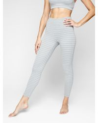 7bfe4086d386a Athleta - Stripe Salutation 7/8 Tight In Powervita - Lyst