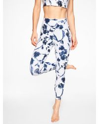 Athleta - Water Flower 7/8 Tight - Lyst