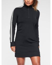 Athleta - Circa Track Sweatshirt Dress - Lyst
