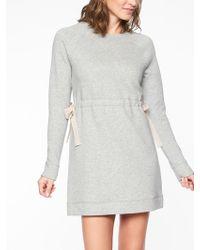 Athleta - Studio Cinch Sweatshirt Dress - Lyst