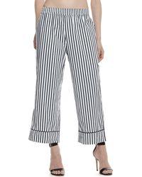 ATM - Cotton Poplin Pajama Pants - Exclusive - Lyst