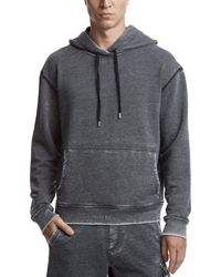 ATM - Sun Bleached French Terry Hoodie - Lyst