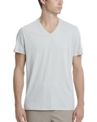 ATM - Classic Jersey V-neck Tee - Lyst