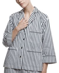 ATM - Cotton Poplin Pajama Top - Exclusive - Lyst