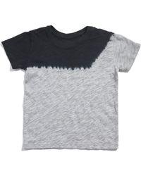 b36e5a1c0922d ATM - Kids Dip Dye Slub Jersey Short Sleeve Tee - Lyst