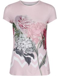 Ted Baker - Women's Fit To A T Geree Palace Gardens Fitted T-shirt - Lyst