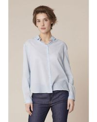 Harris Wilson - Cabrie Cotton Voile Shirt - Lyst