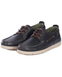 Barbour - Men's George Boat Shoes - Lyst