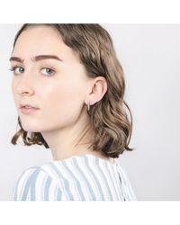 V Jewellery - Luella Earrings Ft. Gold - Lyst