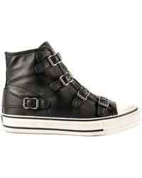 Ash - Virgin Leather Buckle Trainers - Lyst