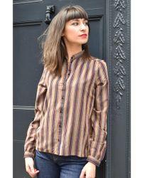 Harris Wilson - Emma Latte Shirt - Lyst