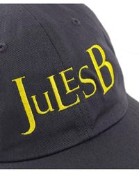 Jules B - Cotton Twill Baseball Cap - Lyst