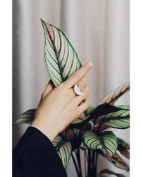 Wolf & Moon - Double Crescent Ring - Lyst
