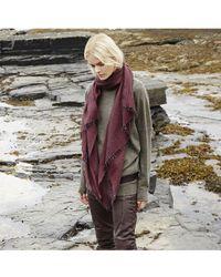 Begg & Co - Staffa Lightweight Cashmere And Silk Scarf - Lyst