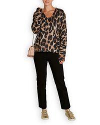 360cashmere - Geraldine Leopard Cashmere Jumper - Lyst