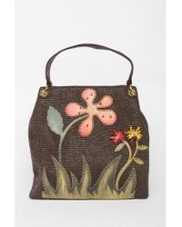 Almala - Flower Embroidery Bag - Lyst