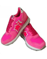 Atlantic Stars - Pink Trainers - Lyst