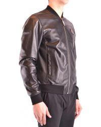e7db2c301e Lyst - Philipp Plein Classic Bomber Jacket in Black for Men