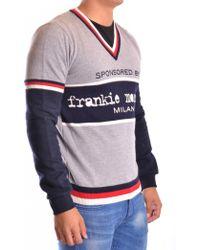 Frankie Morello - Men's Mcbi125019o Grey Wool Sweater - Lyst